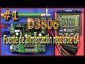 D3806-Fuente de alimentación regulable (6A) #1