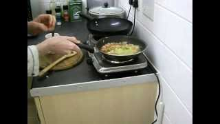 Sausage Omelette with Mixed Vegetables