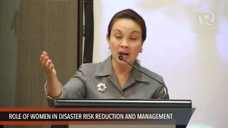 ASEM conference: Speech from Loren Legarda