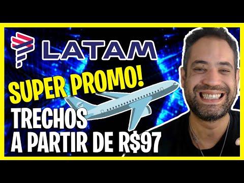 URGENTE! ACABA AMANHA A SUPER PROMOÇÃO DA LATAM COM TRECHOS A PARTIR DE R$97!