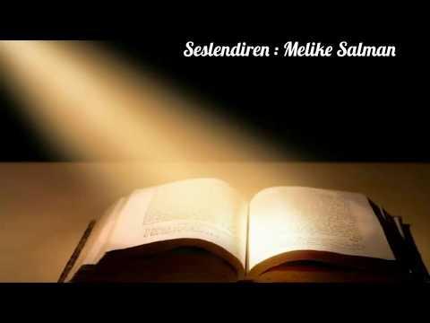 BEN ÖĞRETMEN OLMAK İSTİYORUM ( Şiir : M.Nejat SEFERCİOĞLU , Seslendiren : Melike Salman )