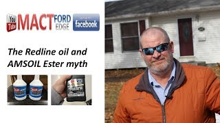 Redline and Amsoil the Ester Myth of the oils