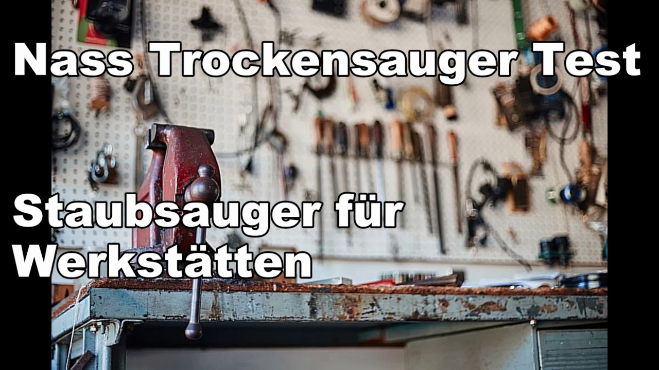 nass trockensauger test f r industrie und werkst tten youtube. Black Bedroom Furniture Sets. Home Design Ideas
