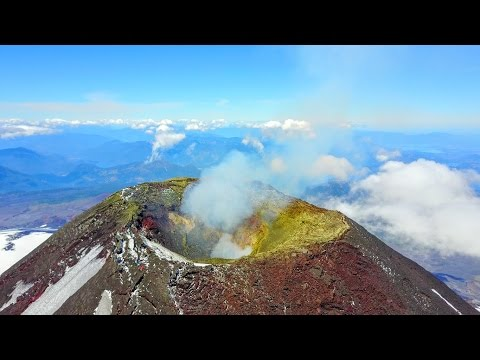 Volcano Villarrica - Pucon, Chile : Narrated by @akpolarcub