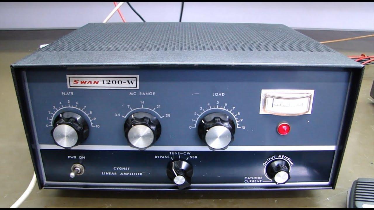 Download ALPHA TELECOM: MANUTENÇÃO AMPLIFICADOR LINEAR SWAN 1200W