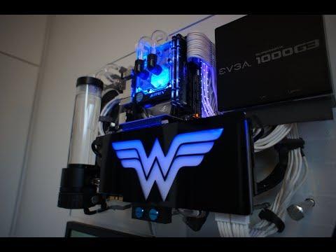 Wall PC - Wonder Woman - Crying GPU Part 1
