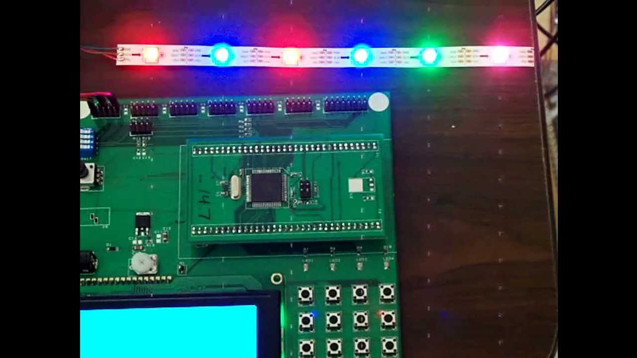 introduction to microcontrollers driving ws2812 rgb leds mike silvaRgb Led Strip Control Pic18f2550 Mosfet Driver Circuit Rgb Serit Led #12