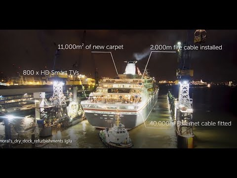 Fred Olsen - Balmoral's Dry Dock Refurbishments | Planet Cruise