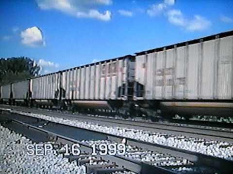 CSX Coal Train at Barboursville, W.Va.