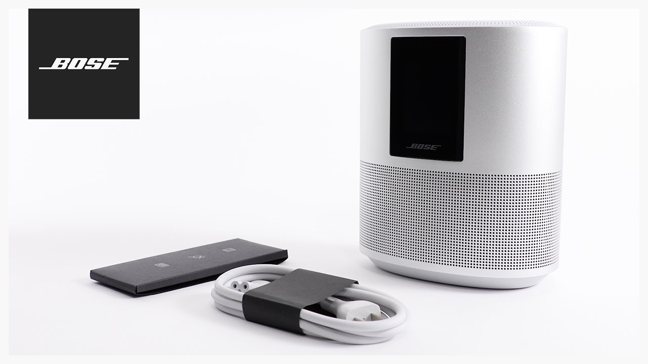 Bose Home Speaker 500 – Unboxing + Setup - YouTube |Speaker Setup