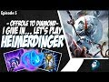 I GIVE IN... LET'S PLAY HEIMERDINGER BOT LANE - OffRole to Diamond - Ep. 5 | League of Legends