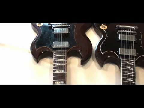 An  Angus Young Custom Shop Aged  Gibson SG Standard  quick  overview Part One.