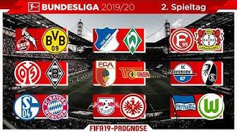 FIFA 19: Spieltag 2 - Saison 19/20 l Bundesliga - Prognose l Deutsch [HD]