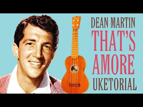 That's Amore - Dean Martin // Ukulele Tutorial thumbnail