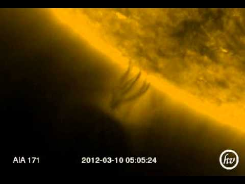 Giant Object Drawing Energy From Sun?! (Full month view)