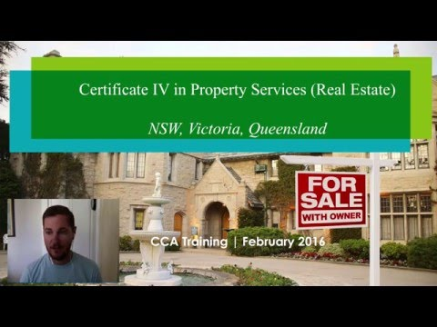 Certificate IV in Property Services