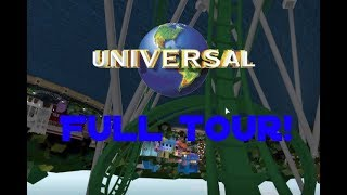 A tour to Universal Studios ROBLOX
