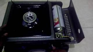 Cara Memasang Gas Pada Kompor Portable