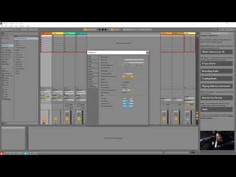 Ableton Live 10 Ultimate Tutorial 02 - Initial Setup