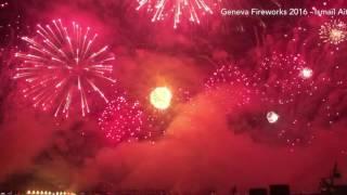 Fêtes de Genève 2016 - Feu d'artifices - Best Of