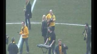 BVB - Werder Bremen - Südtribüne vs. Stand Up for the Champions (Right Said Fred)