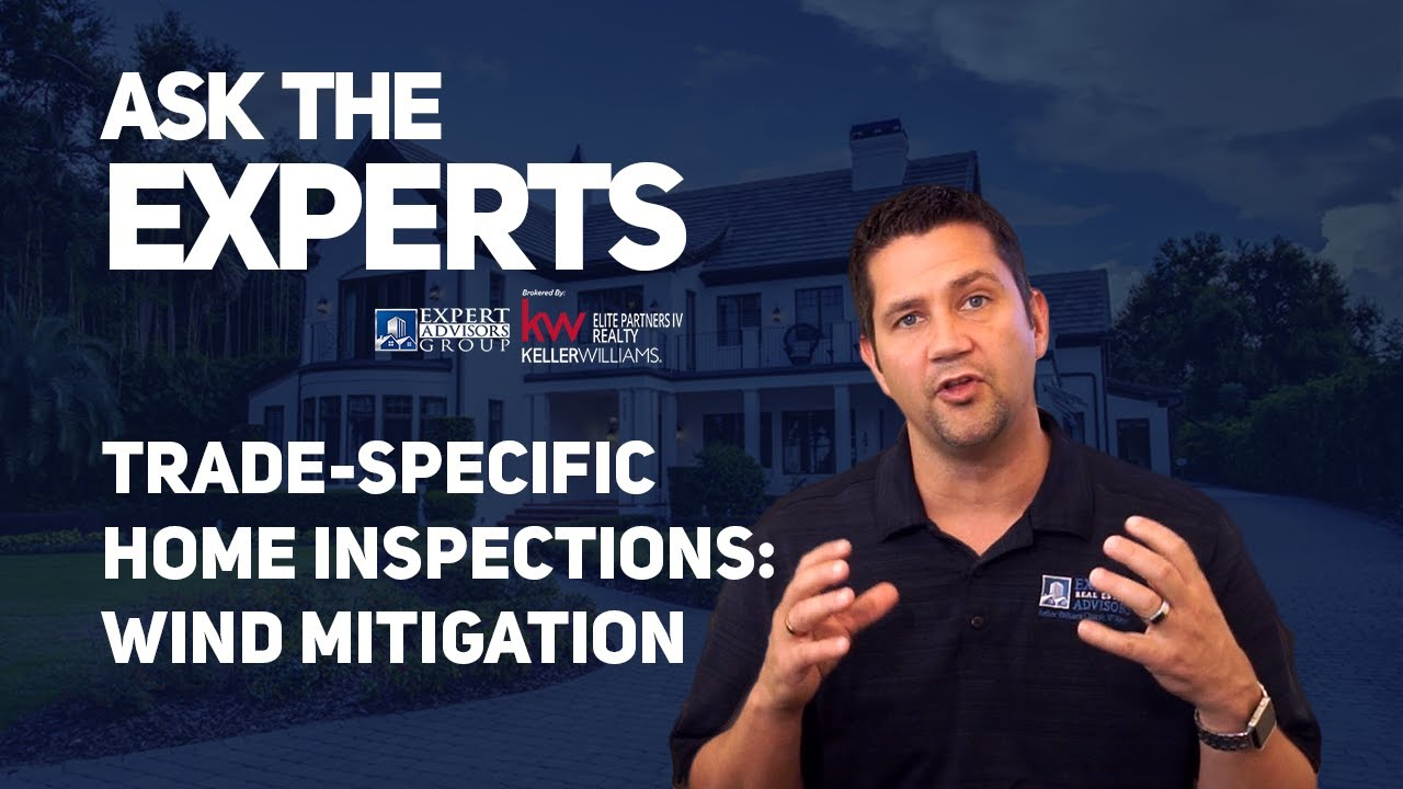 Ask the Experts:  Trade Specific Inspections - Wind Mitigation - Jon Wanberg