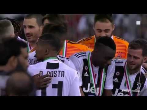 Juventus vs Milan | Supercoppa Italiana 2018/2019 |  Highlights & Trophy Celebration