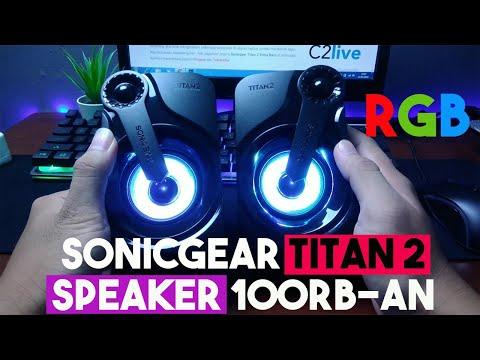 Sonicgear Titan 2 Portable 2.0 Speaker - Review Dan Unboxing