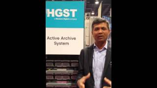 HGST's Rags Srinivasan Showcases Our Active Archive System at NAB 2015