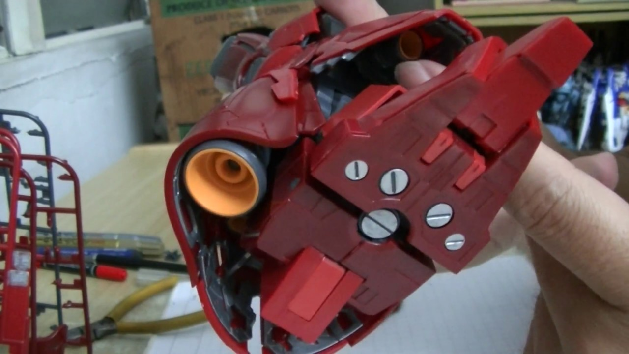 Daban Mg Sazabi Ver Ka Part 2 The Legs Youtube Gundam Rx78 Verka 114215 Gerrykomalaysia Gunpla