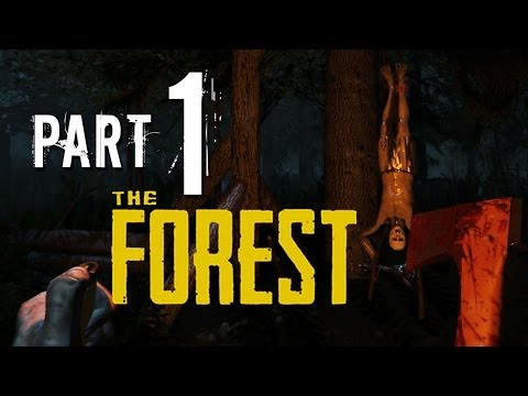 The Forest Walkthrough Part 1 - OPEN WORLD SURVIVAL HORROR GAME !!! The Forest Gameplay