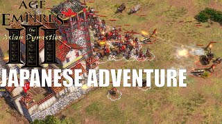 Age of Empires III : Asian Dynasties - Japanese Adventure (3v3)