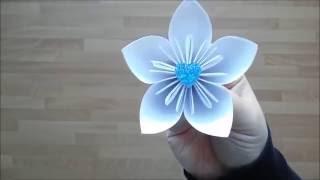 DIY EASY Origami Flower Tutorial  | Gör Det Själv: Origami Blomma