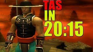 [TAS] Mortal Kombat Shaolin Monks KUNG LAO | IN 20:15 (PS2)