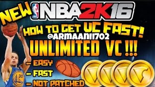 NBA 2K16 - HOW TO GET VC FAST & EASY ! | 2K16 Tips & Tricks * THIS GLITCH IS PATCHED NOW *