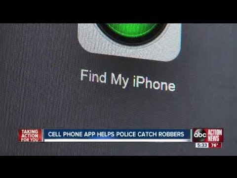 find my iphone app find my iphone app helps tampa recover stolen phone 14087