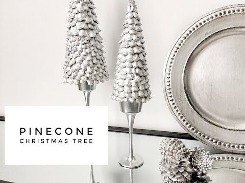 DIY | Easy & Inexpensive | Pinecone | Christmas Tree