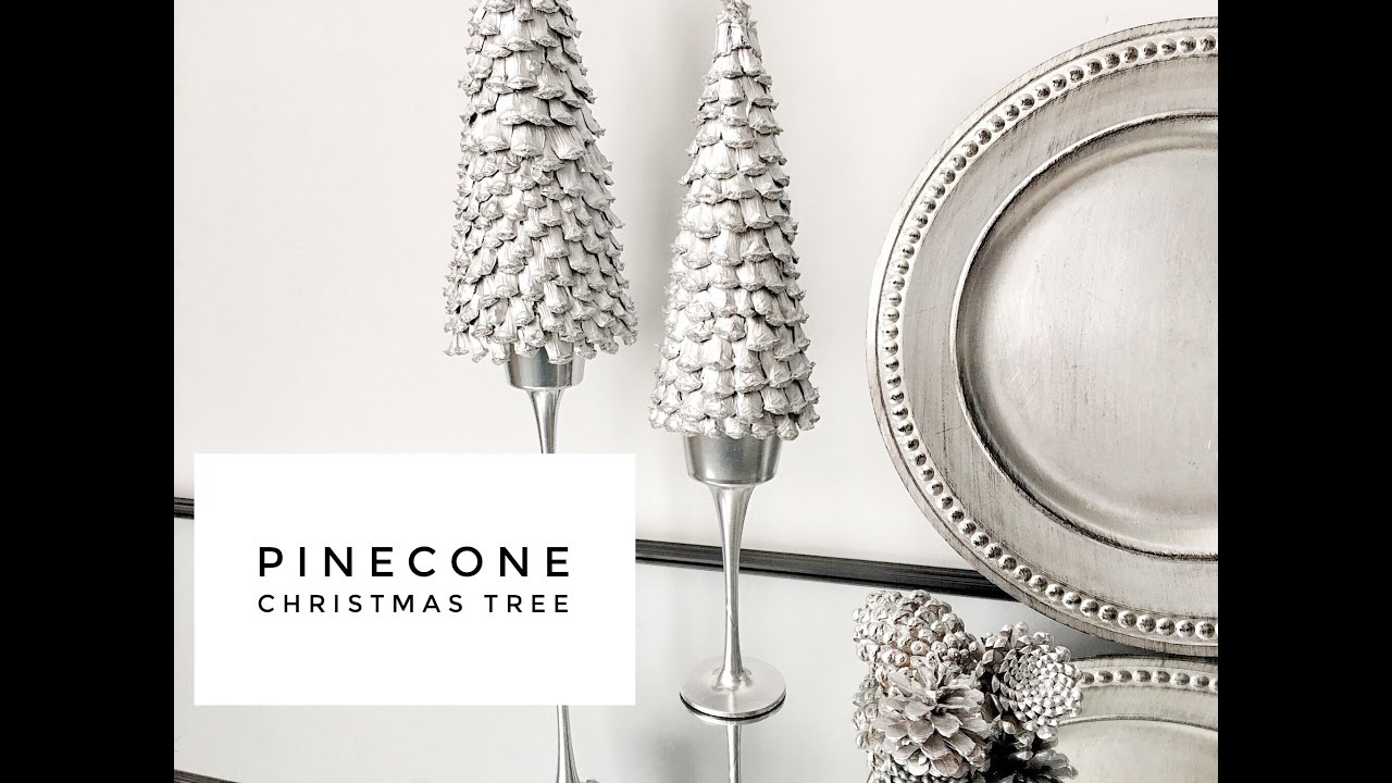 DIY | Easy & Inexpensive | Pinecone | Christmas Tree - YouTube