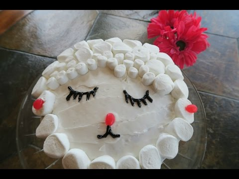 Baking With Keiko⎮Easter Lamb Cake!
