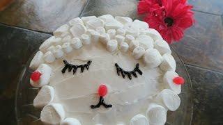 Baking With KeikoEaster Lamb Cake!