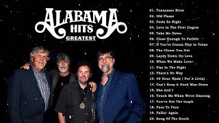 Best Songs Of Alabama || Alabama Greatest Hits Playlist || Alabama Classic Country  Best Songs Ever