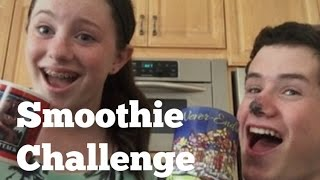 Smoothie Challenge With Habaneros