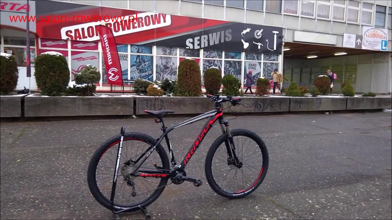 Rower Kross Level 4 0 2018 Czerwony  Salon-rowerowy Pl