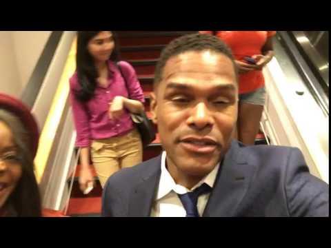 Singer Maxwell Show Love For Haiti at Haiti Optimiste in NYC