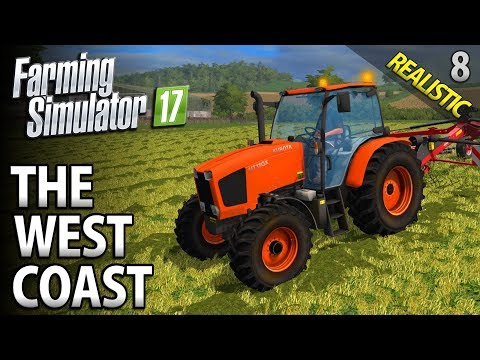 Let's Play Farming Simulator 17 | The West Coast | Episode 8