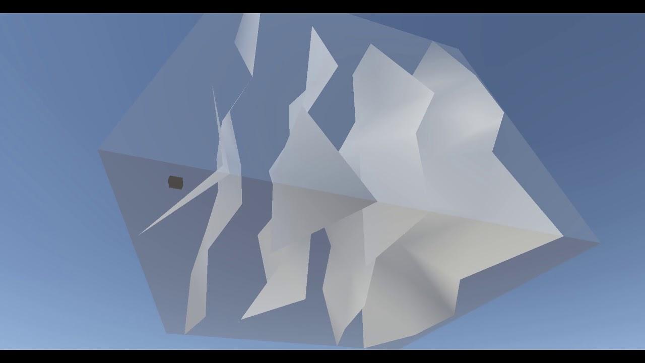 Drone with radar sensor simulation