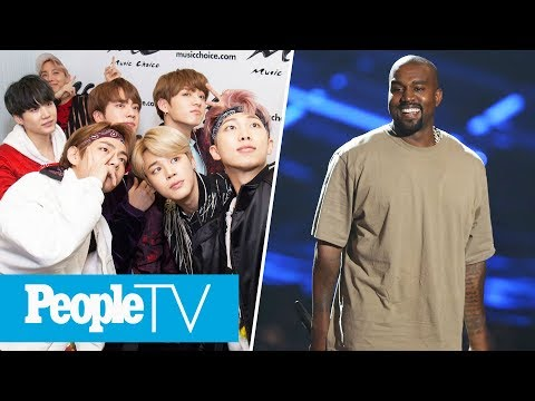 Interviews With K-pop's BTS, GOT7 & NCT 127, Kanye's Adorable Father-Son Weekend | PeopleTV