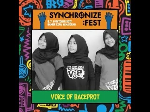 VoB (Voice of Baceprot) - School Revolution - Live At Synchronize Fest 2017