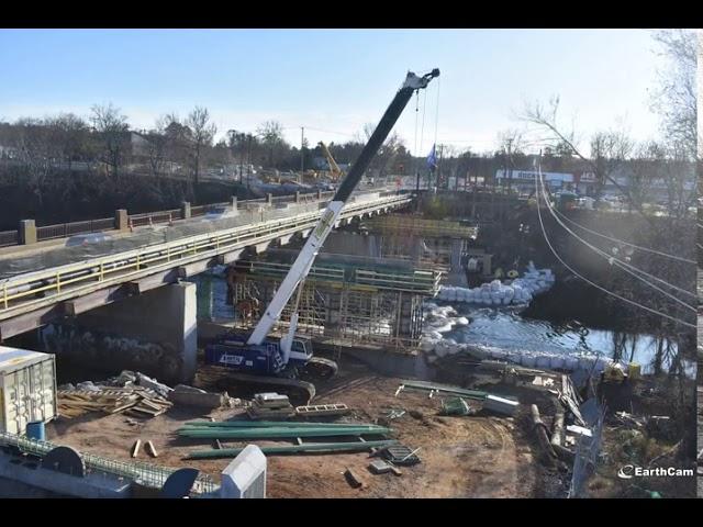 Timelapse Video Morgan Sullivan Bridge Replacement Wwlp