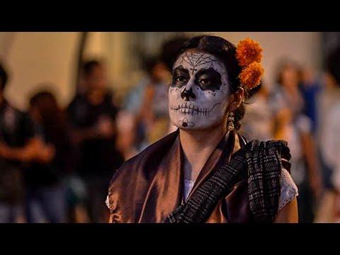 Desfile Comparsa del Día de Muertos 2018 en Oaxaca
